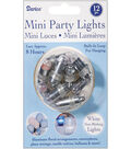 Darice® 12pk Non-Blinking Mini Party Lights-White