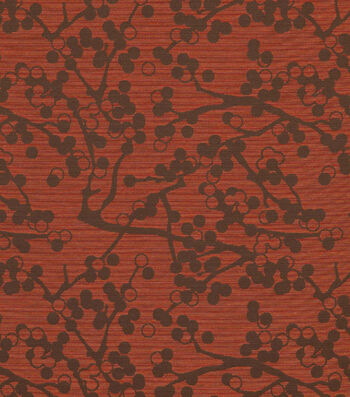 "Crypton Upholstery Fabric 54""-Cherries-Red"