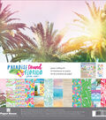 Paper House Paper Crafting Kit 12\u0022X12\u0022-Paradise Found Florida