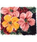 Wonderart Latch Hook Kit 15\u0022X20\u0022-Brilliant Blossoms