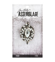 Tim Holtz® Assemblage 1.5'' Jeweled Regalia Pendant, , hi-res