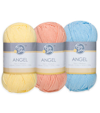 Fair Isle Angel Yarn
