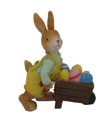 Easter Littles Resin Mini Rabbit with Cart