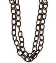 "Vintaj Metal Chain 16""-Etched Cable 6.5x9.5mm, , hi-res"