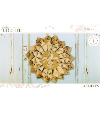 Jolee's Boutique Parisian Vintage Rolled Paper Wreath