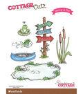 CottageCutz Stamp & Die Set-Woodlands
