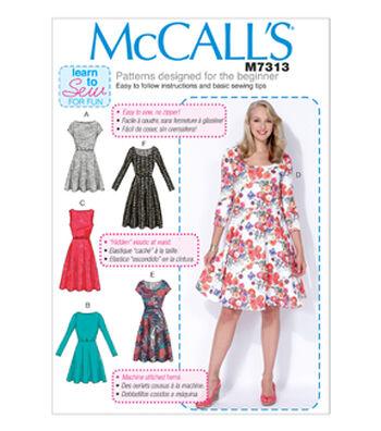 McCall's Women's Dress-M7313
