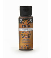FolkArt® Metallic 2oz-Antique Copper, , hi-res