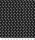 Quilter\u0027s Showcase™ Fabric 44\u0027\u0027-Triangle Geometric on Black