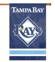 Tampa Bay Rays Applique Banner Flag, , hi-res