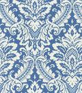 Waverly Upholstery Fabric 54\u0022-Warren Cornflower