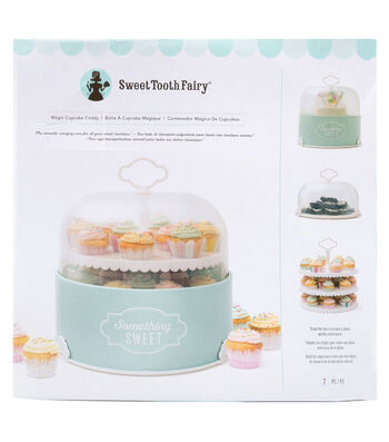 The Sweet Tooth Fairy 7 pk Magic Cupcake Caddy