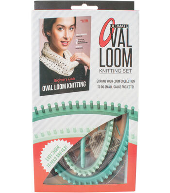 Ultimate Oval Loom Knitting Set For Beginners