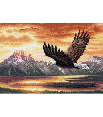 Dimensions Gold Collection Counted Cross Stitch Kit Silent Flight