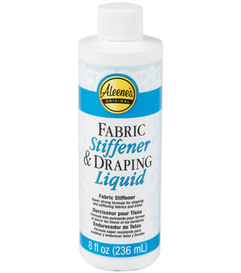 Aleene's Fabric Stiffener & Draping Liquid-8 oz.
