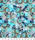 Keepsake Calico™ Cotton Fabric 43\u0022-Allover Floral Green