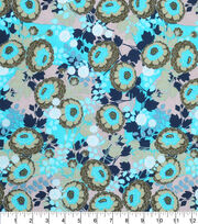 "Keepsake Calico™ Cotton Fabric 43""-Allover Floral Green, , hi-res"