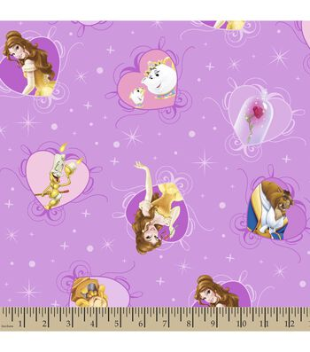 Disney® Princess Print Fabric-Belle and Friends