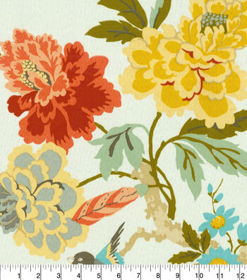 """Waverly Upholstery Fabric 54""""-Candid Moment Melon"""