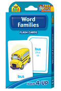 Flash Cards-Word Families 54/Pkg