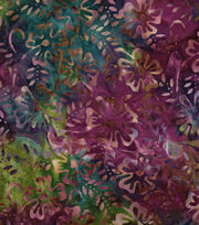"Legacy Studio™ Indonesian Batiks Cotton Fabric 43""-Floral, , hi-res"