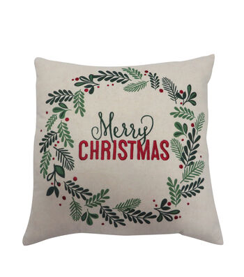 Maker's Holiday Christmas Pillow-Merry Christmas