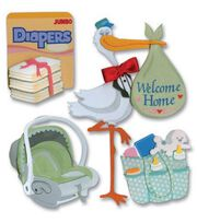 Jolee's Boutique Themed Ornate Stickers-Coming Home, , hi-res