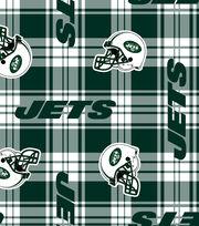"New York Jets Fleece Fabric 58""-Plaid, , hi-res"