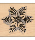 Penny Black Mounted Rubber Stamp 2.25\u0022X2.25\u0022-Snow Flake