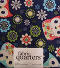 Fabric-Quarters Assorted Fabric-Owls