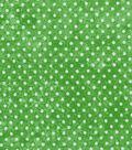 Keepsake Calico™ Cotton Fabric 43\u0022-Dot Texture On Green