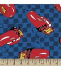 Disney PIXAR Cars Print Fabric-Lightning McQueen