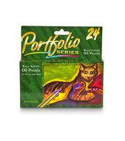 Crayola 24ct Portfolio Oil Pastels, , hi-res