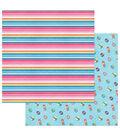 Photoplay Paper Those Summer Days 12\u0027\u0027x12\u0027\u0027 Cardstock-Cabana