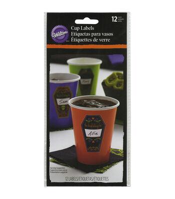 Wilton Cup Labels 12/Pkg-Deadly Soiree
