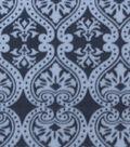 Anti-Pill Fleece Fabric 59\u0022-Black Damask