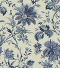 Waverly Multi-Purpose Decor Fabric 56\u0022-Felicite Indigo