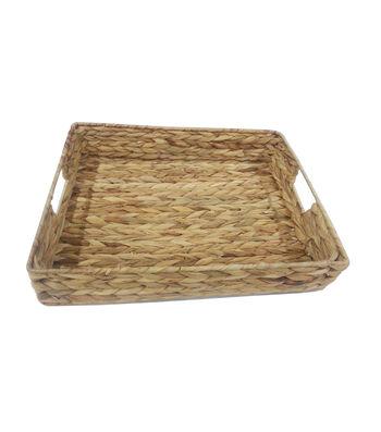 Organizing Essentials Water Hyacinth Tray