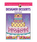 Dover Creative Haven Designer Desserts Coloring Book