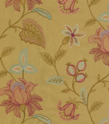 "Williamsburg Upholstery Fabric 52""-Kerala Emb/Prune"