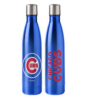 Chicago Cubs 18 oz Insulated Stainless Steel Water Bottle, , hi-res