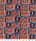 Auburn University Tigers Cotton Fabric 43\u0022-Herringbone