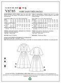 Mccall Pattern V8785 F5 (16-18--Vogue Pattern