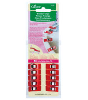 Clover Wonder Clips 10pc, , hi-res