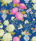 P/K Lifestyles Lightweight Decor Fabric-Lightfoot Garden/Sapphire