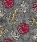 Game of Thrones Cotton Fabric 43\u0022-Power Play