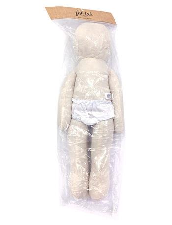 "Bendable Muslin Doll 18"""