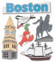 Jolee's Boutique Dimensional Stickers-Boston, , hi-res