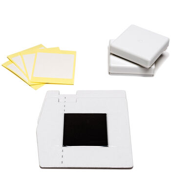 "Silhouette Mint Stamp Sheet 1""X1"" 2/Pkg"
