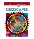 Dover Creative Haven Geoscapes Coloring Book